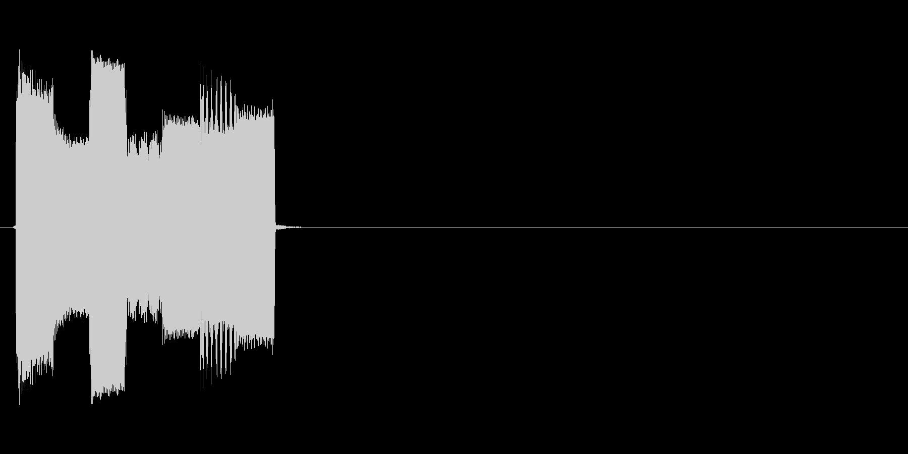 ピコピコ(ロボット、機械、動作)の未再生の波形