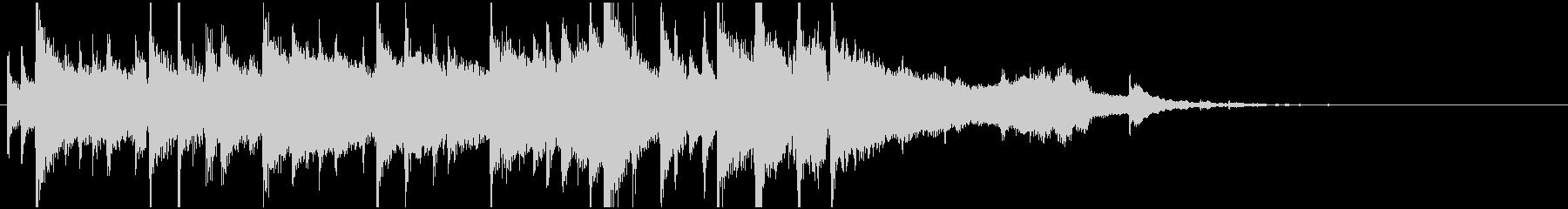 サックスのラジオジングル2の未再生の波形