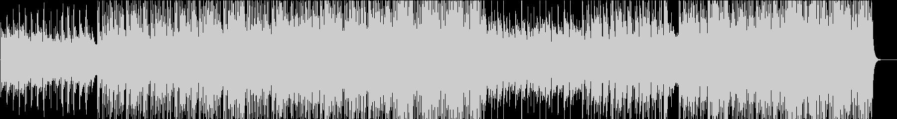 オーケストラルヒップホップの未再生の波形