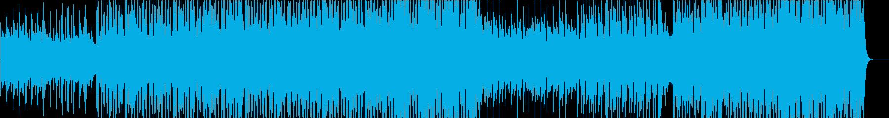 オーケストラルヒップホップの再生済みの波形