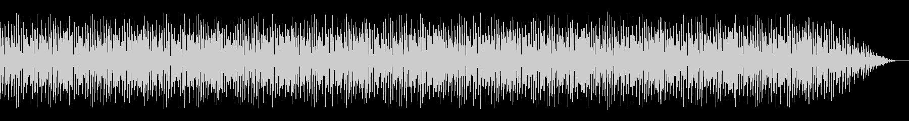 サチモスやジャミロクワイをイメージした曲の未再生の波形