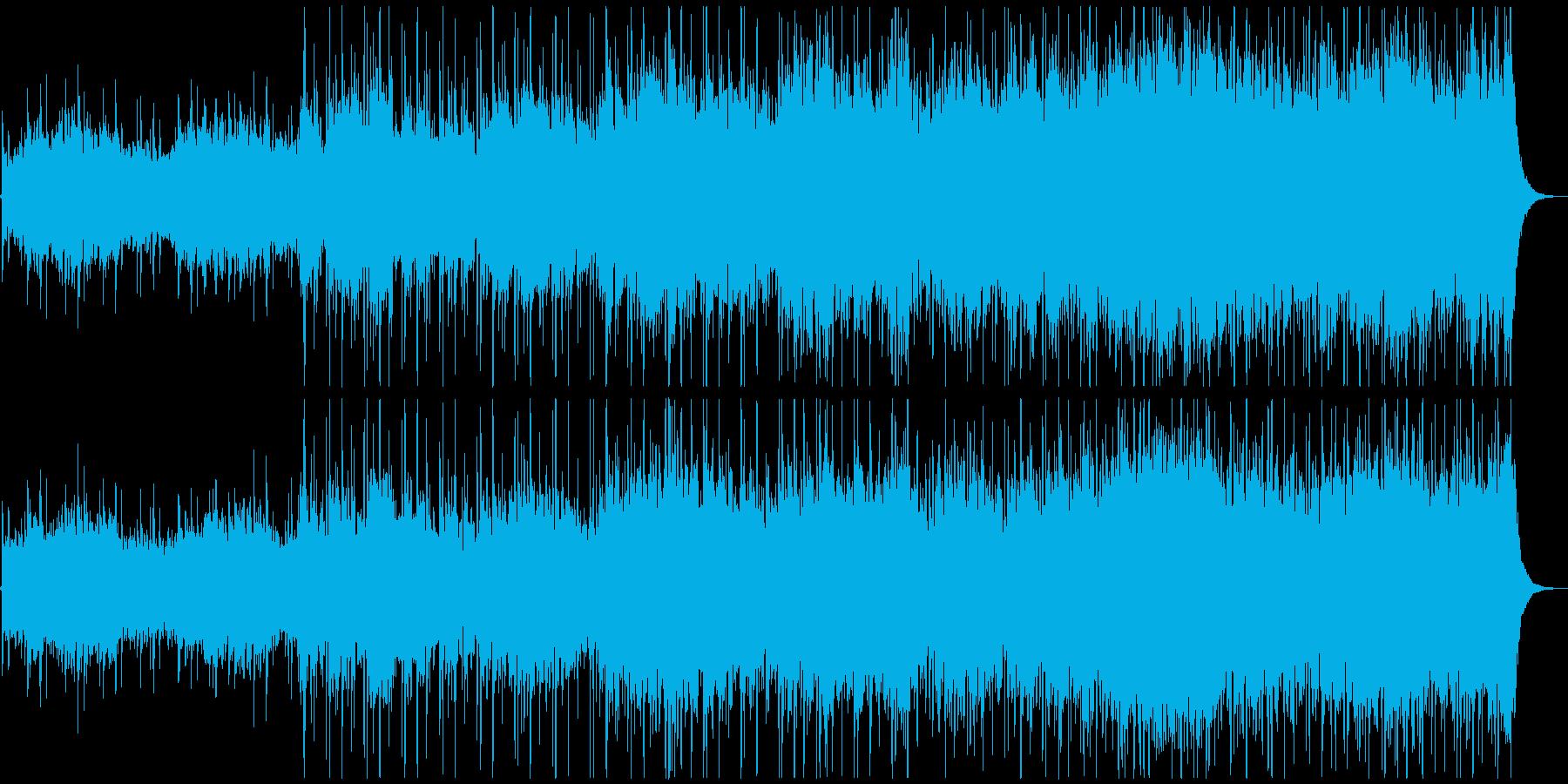 透明感のある壮大なメロディの再生済みの波形
