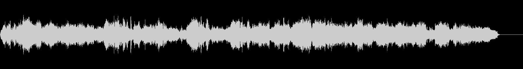 オーケストラでボサノヴァの未再生の波形