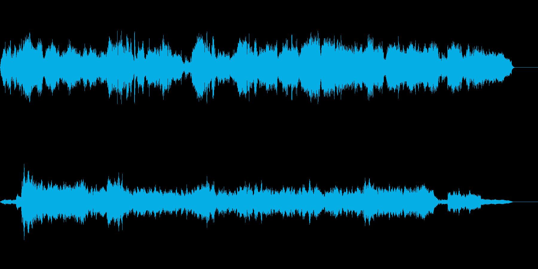 オーケストラでボサノヴァの再生済みの波形