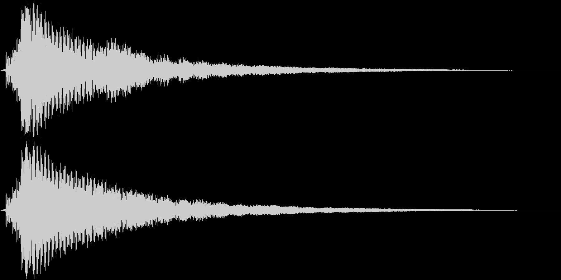 【ギター】Emコードの未再生の波形
