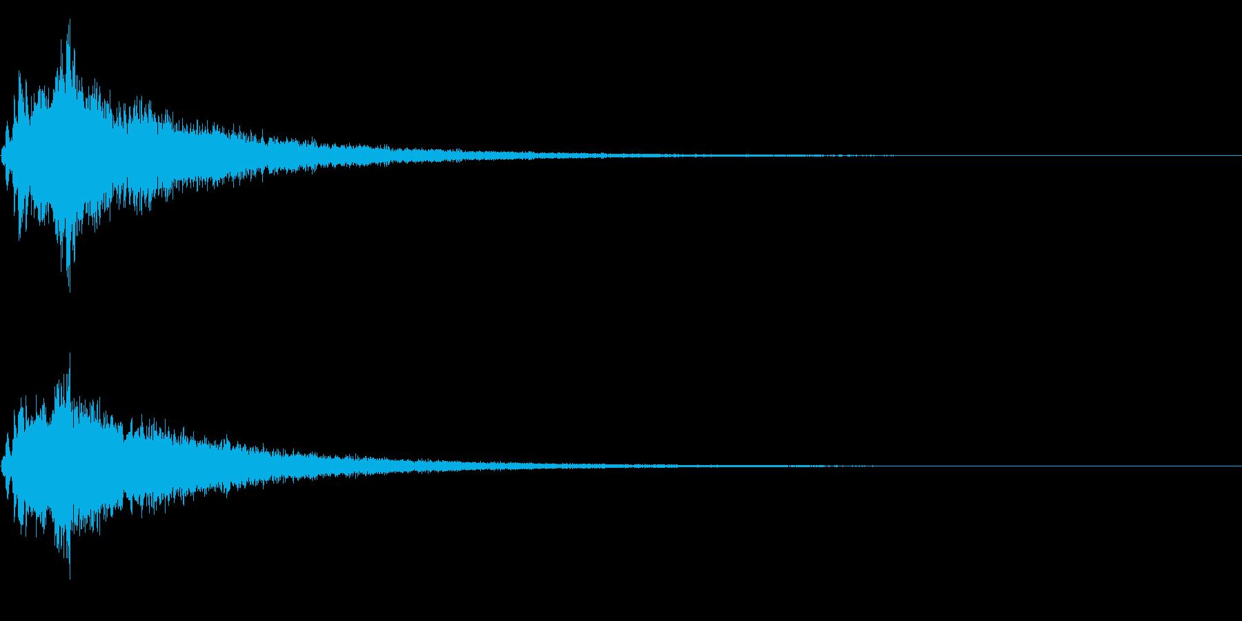【キラキラ24】光や天使に最適な効果音!の再生済みの波形