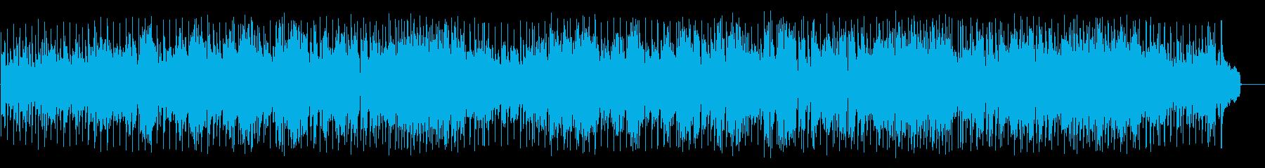 力強いファンク ポップ(フルサイズ)の再生済みの波形
