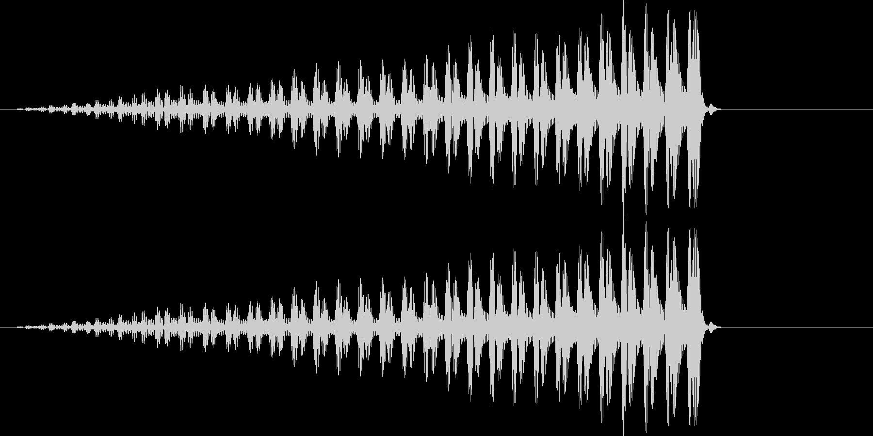 クワッ コミカルの未再生の波形