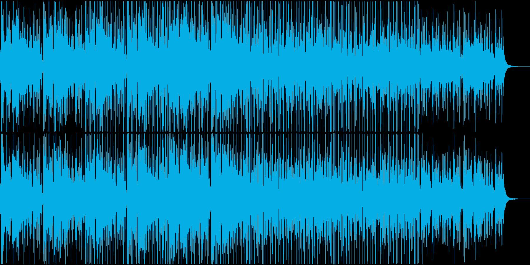 和風 ラウンジ チルアウト 三味線 琴の再生済みの波形