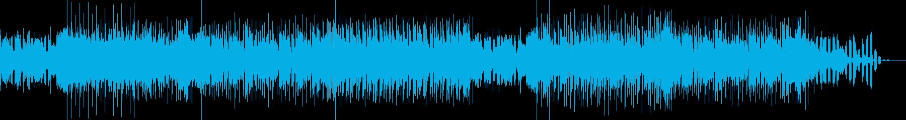 爽やかなリード音が印象的なカッコイイ曲の再生済みの波形