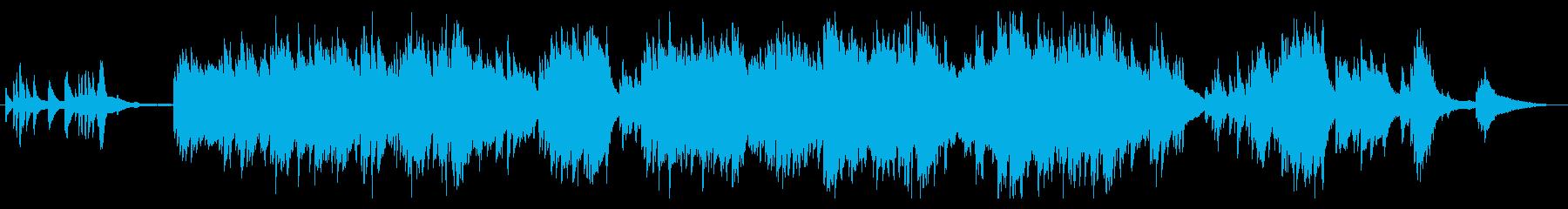 生ピアノで奏でる日本の歌:紅葉(もみじ)の再生済みの波形