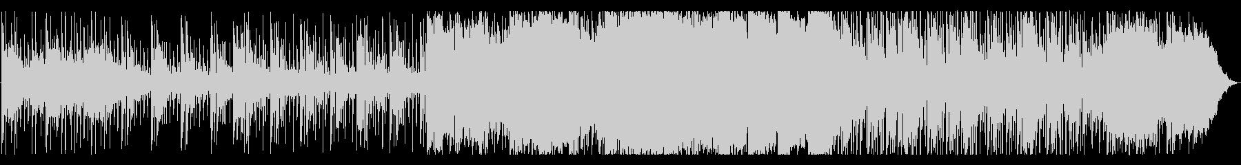 説明解説シーンに最適なアンビエントテクノの未再生の波形