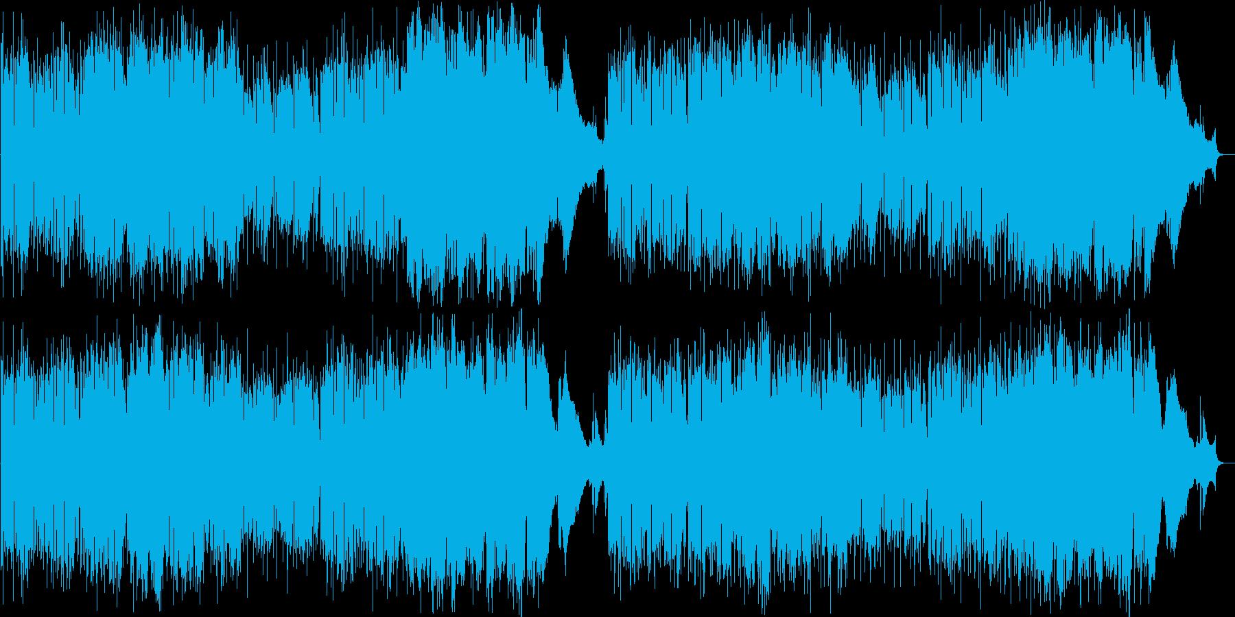 ティータイムの再生済みの波形