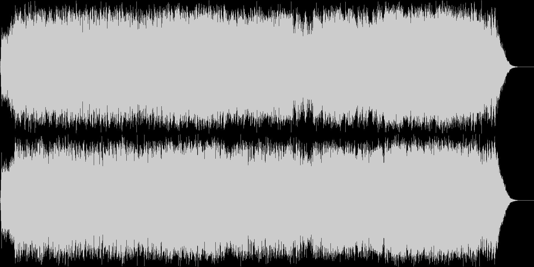 ダークファンタジーオーケストラ戦闘曲61の未再生の波形