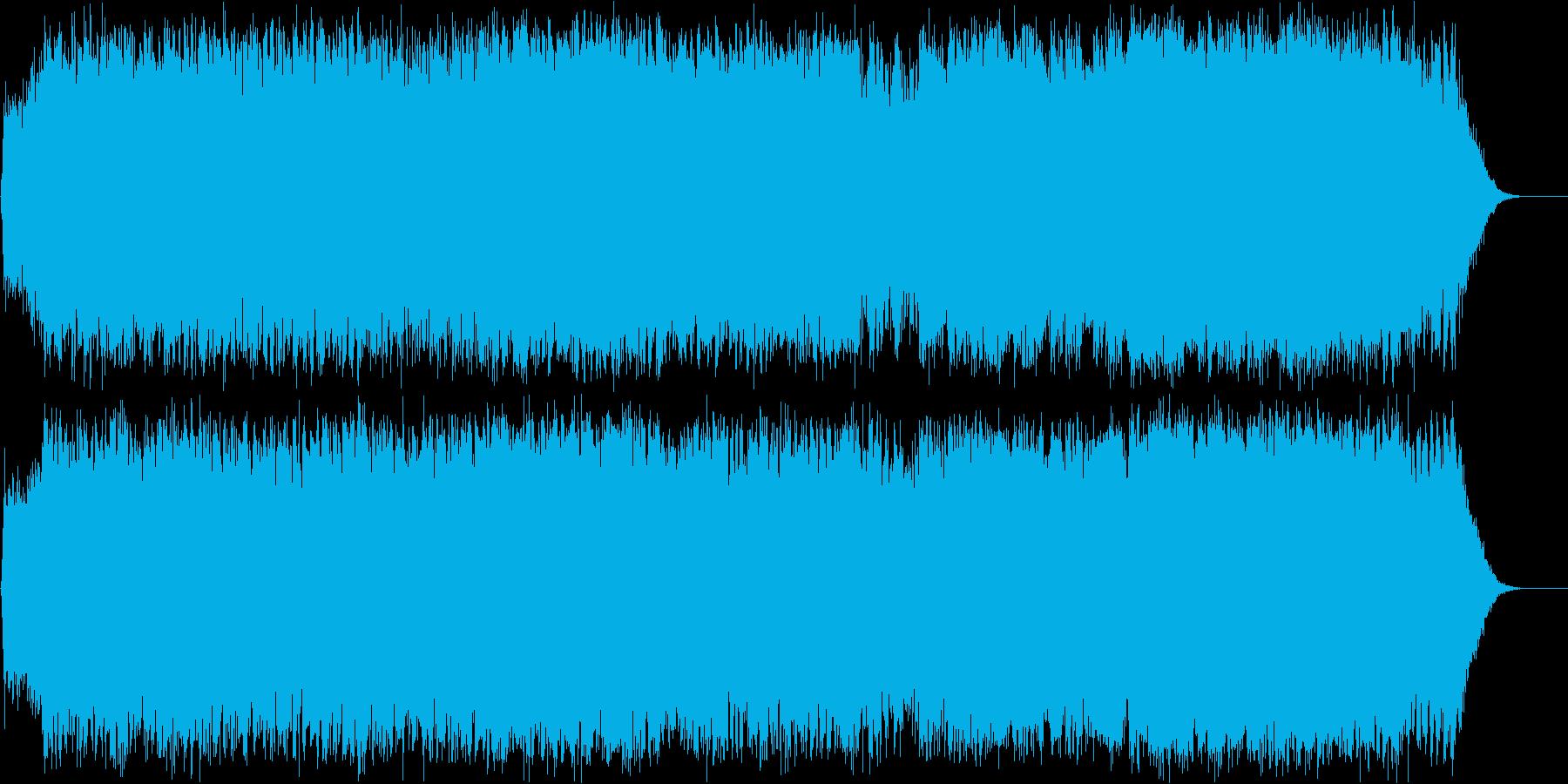 ダークファンタジーオーケストラ戦闘曲61の再生済みの波形