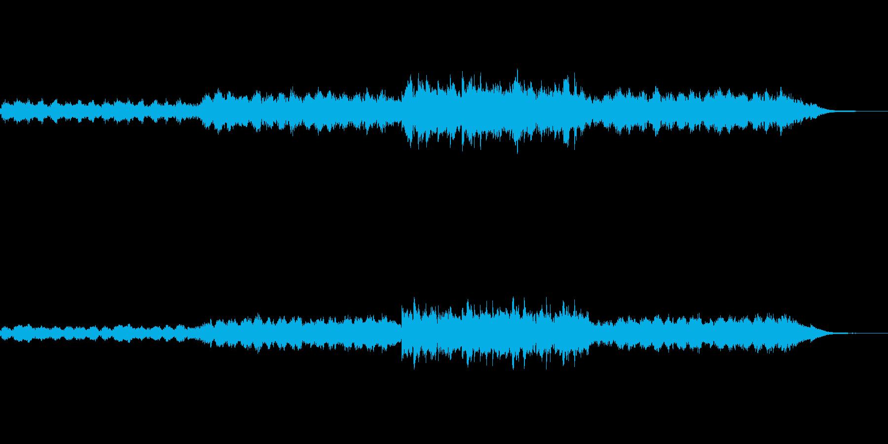 小編成の幻想的な楽曲の再生済みの波形