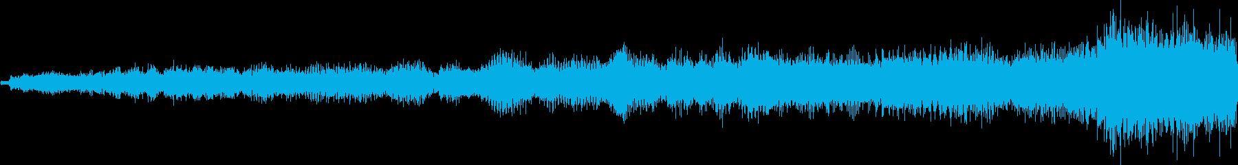 ヒューンゴッ(ワープ・転送装置作動音)の再生済みの波形