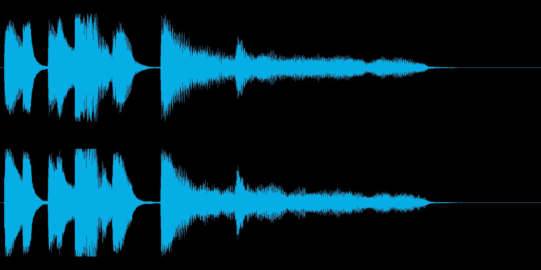 【バードランド2】の再生済みの波形