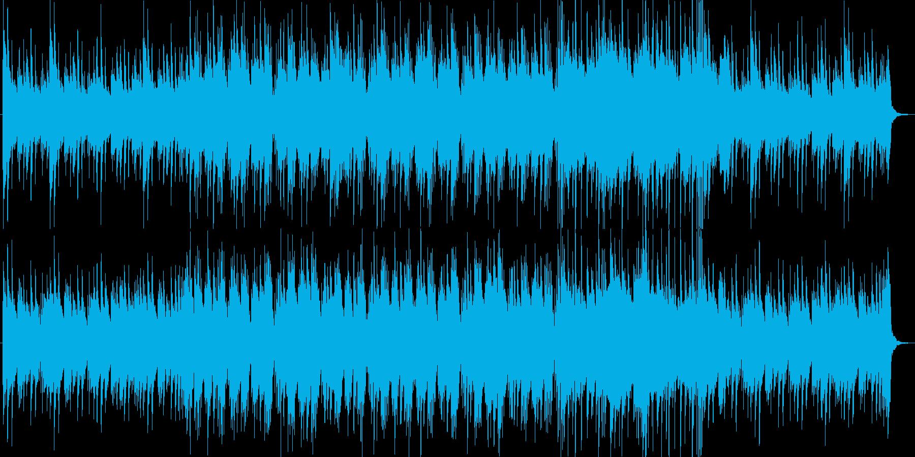 戦闘勝利や推理シーンでのおしゃれなBGMの再生済みの波形