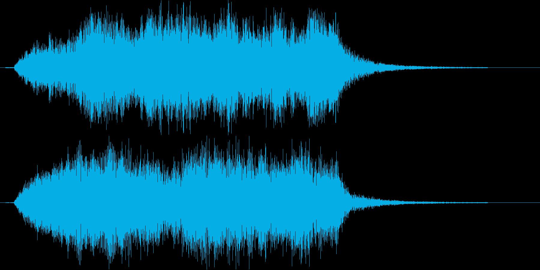 荘厳なピアノクラシックの再生済みの波形