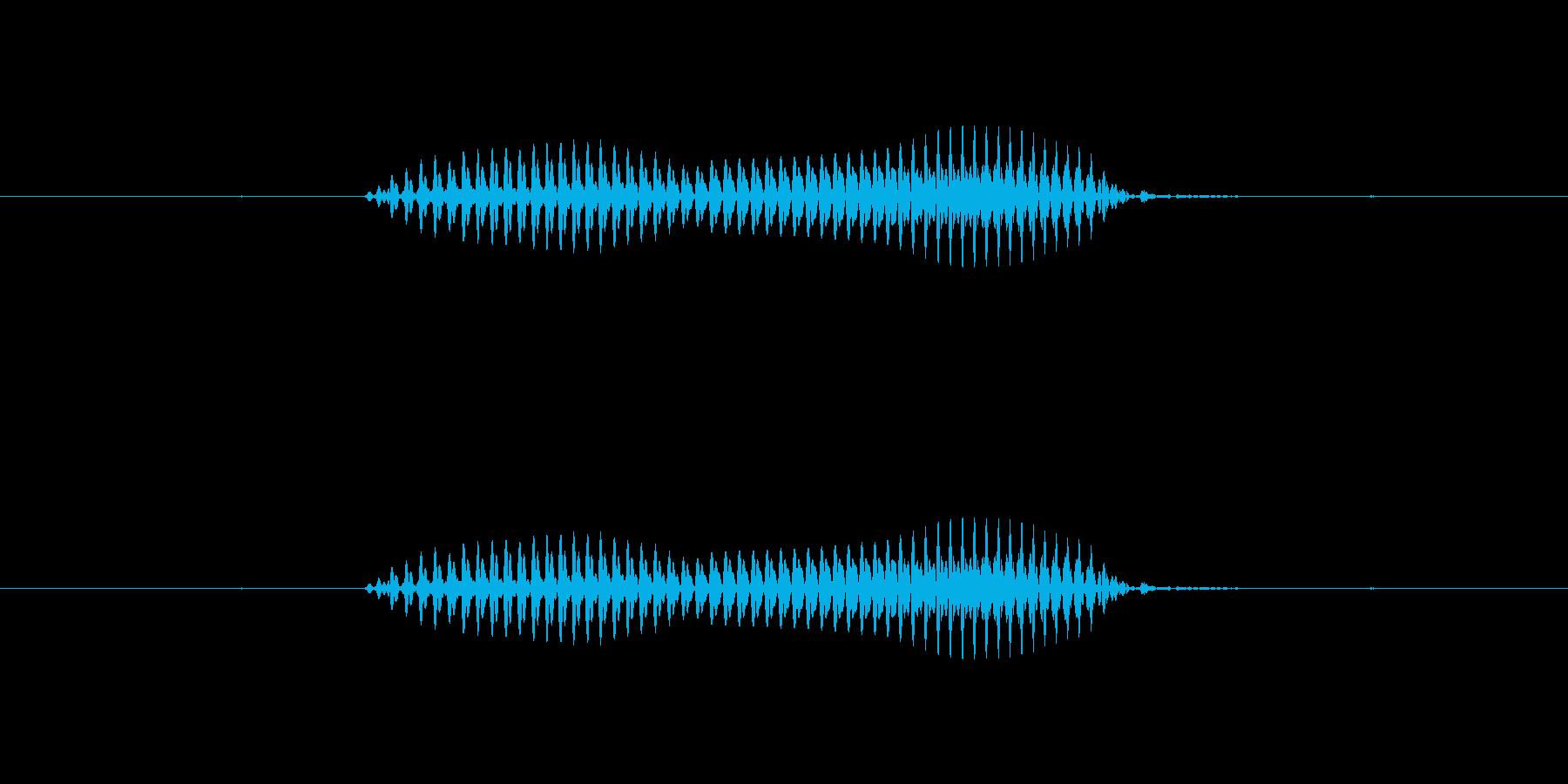【干支】戌の再生済みの波形