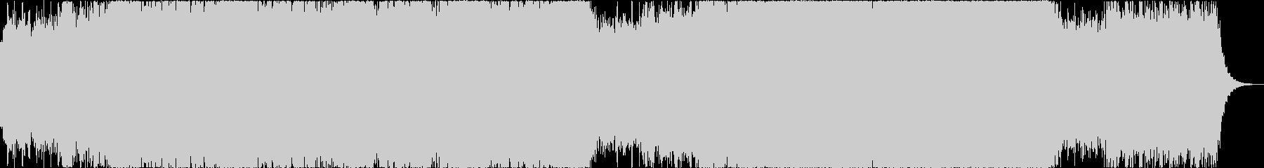 シンセパッドが醸し出すリラックス曲の未再生の波形
