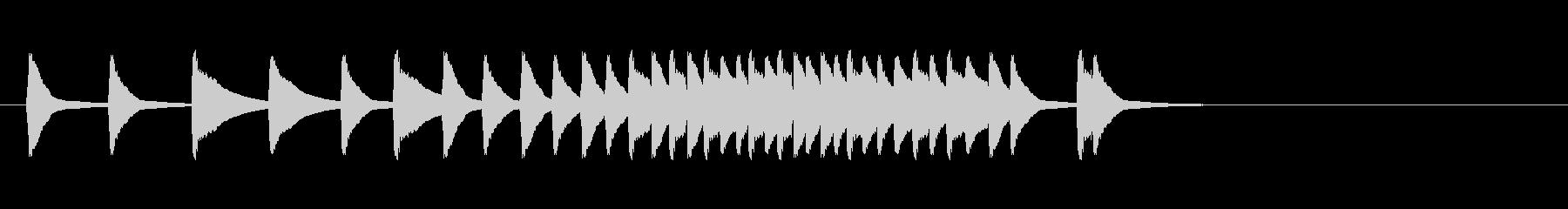 三味線の効果音(単音)パターン3の未再生の波形