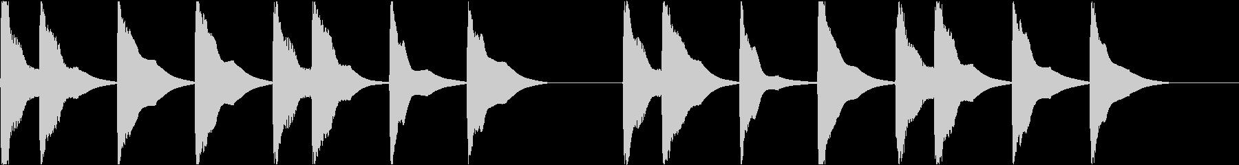 着信音 ループ お知らせ 通知 9の未再生の波形