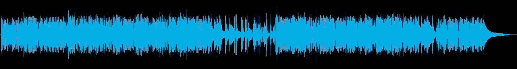 幻想的で妖しいピアノトリオの再生済みの波形