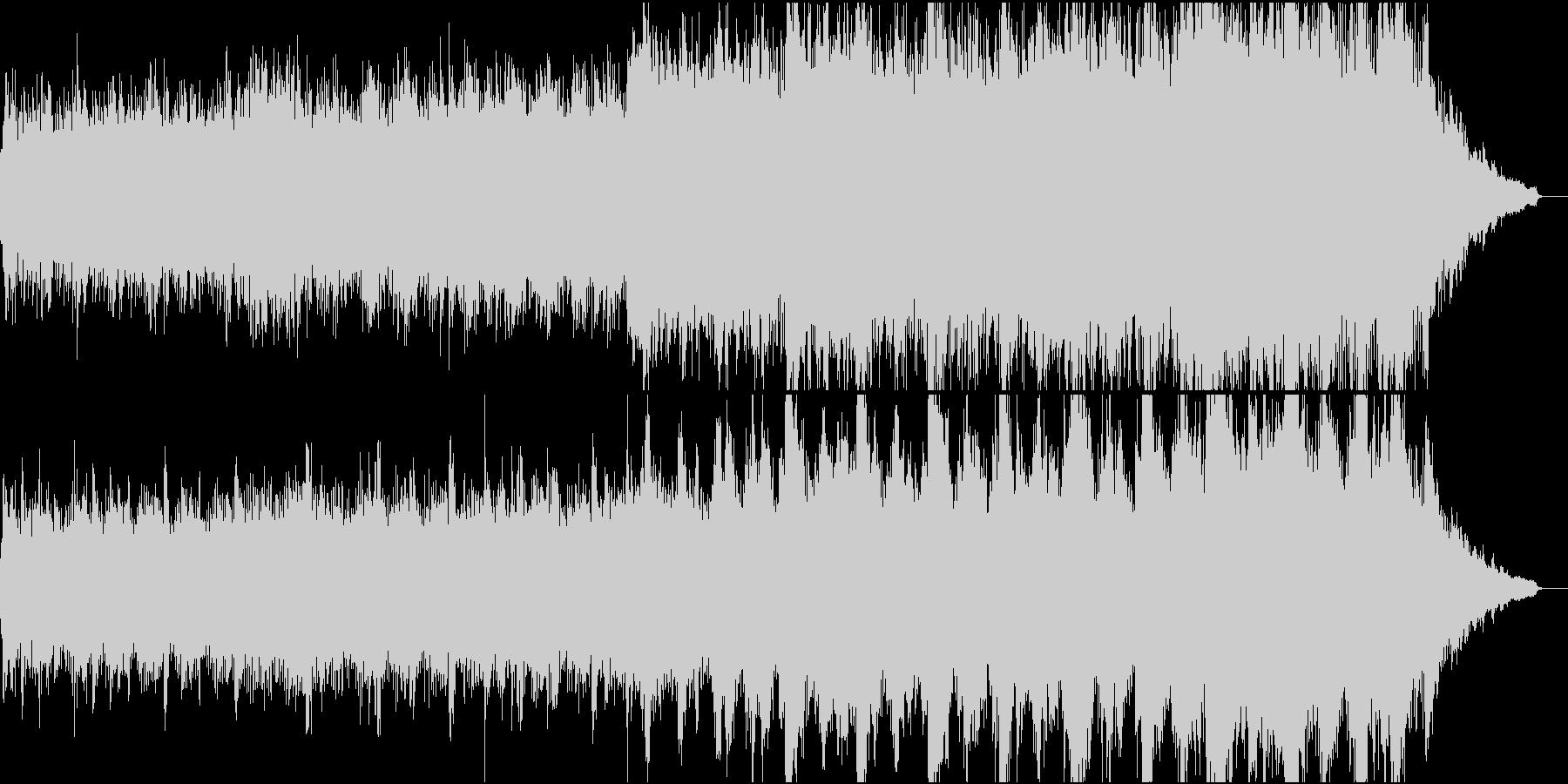 現代的な和風管弦楽①全楽器入りの未再生の波形