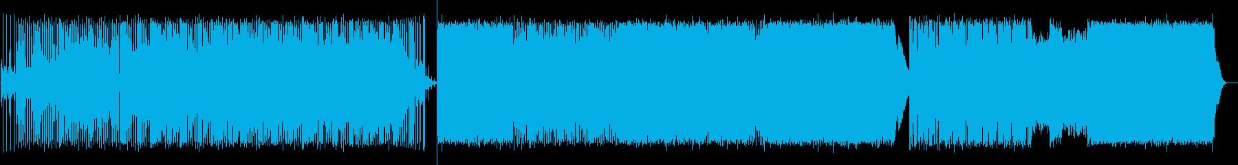 柔らかな幻想的サウンドの再生済みの波形