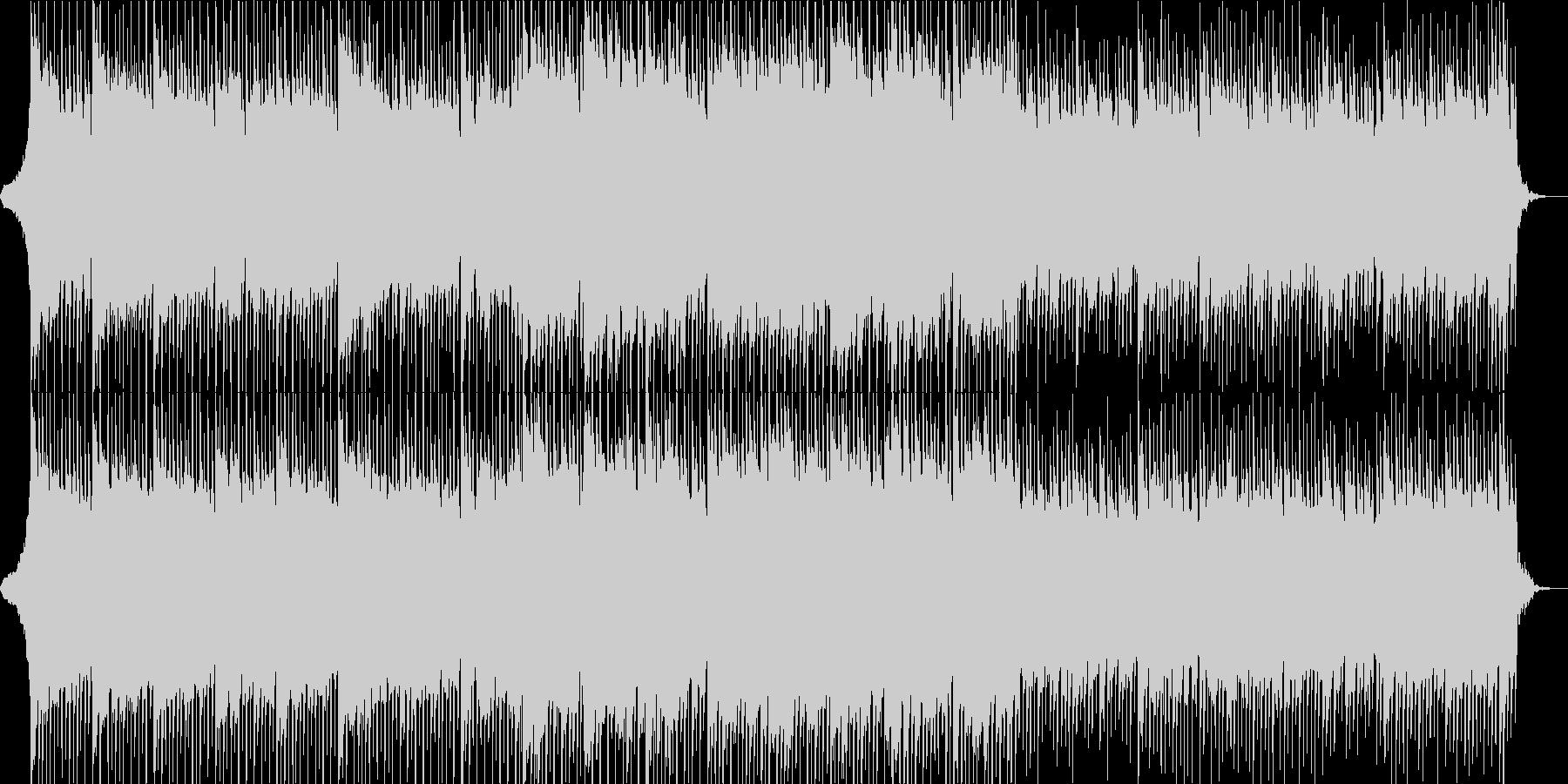 海外ドラマの挿入曲の様なBGMの未再生の波形