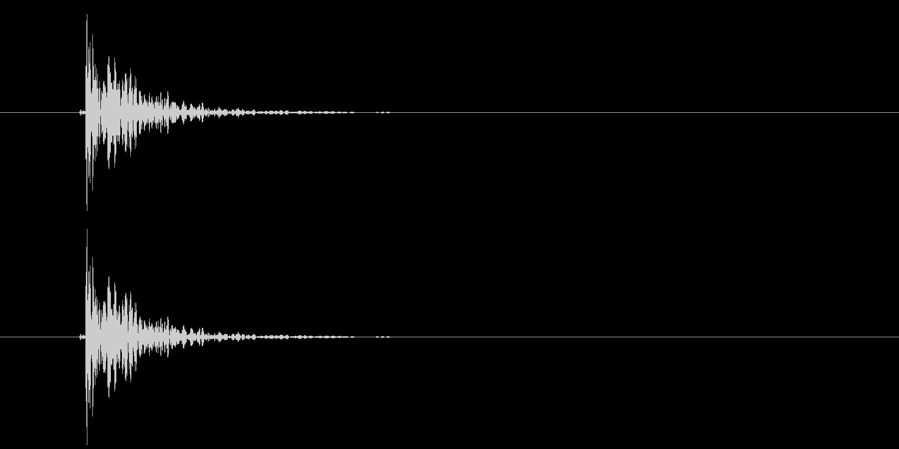 パン(破裂音)の未再生の波形