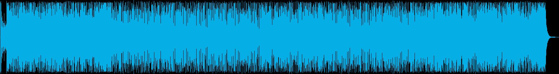 明るくてリズム感が良いポップスの再生済みの波形