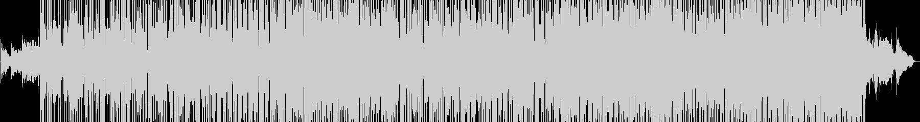 R&B風ポップバラードの未再生の波形
