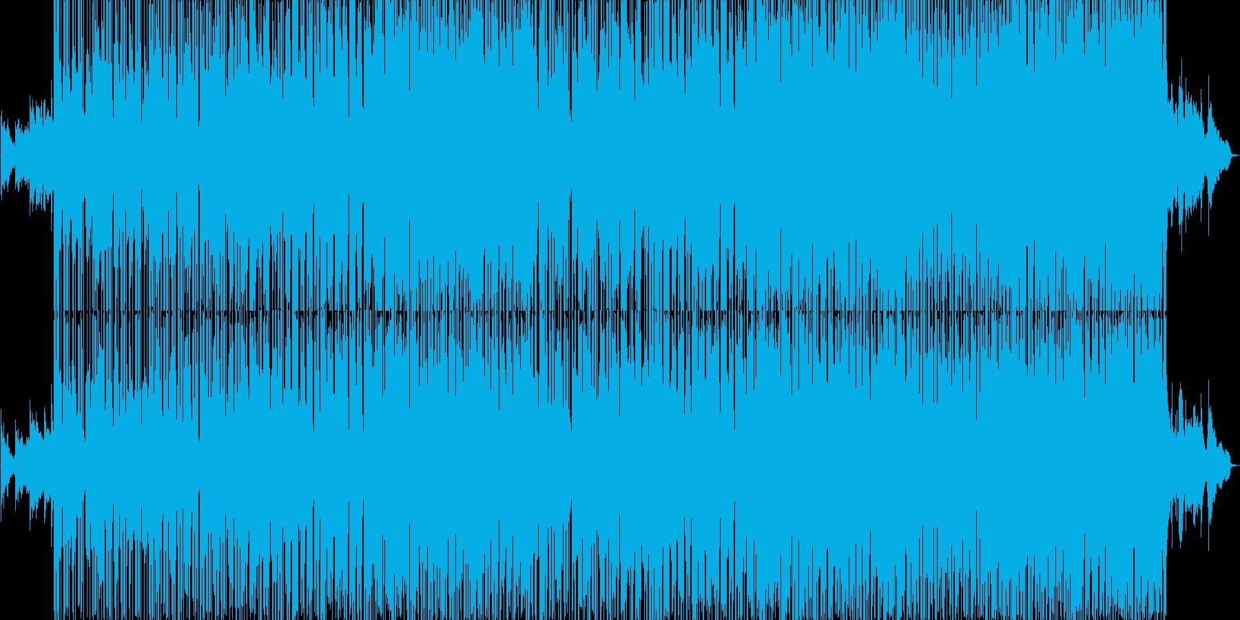 R&B風ポップバラードの再生済みの波形