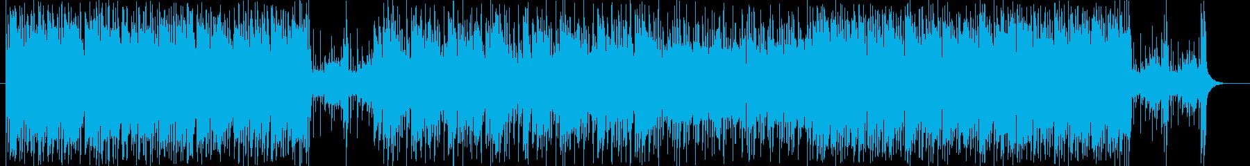 軽快で爽やかなアップテンポ・ポップの再生済みの波形