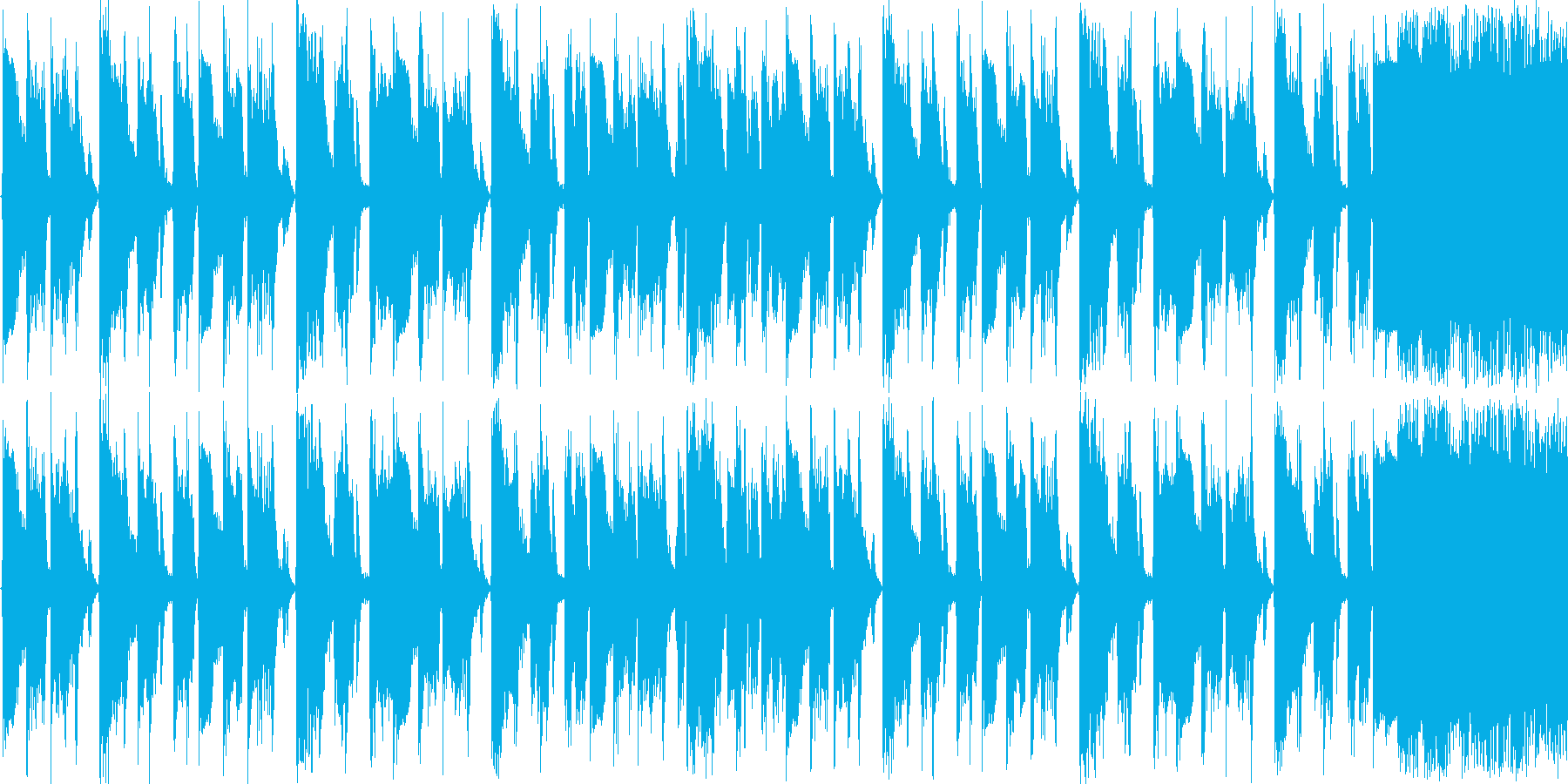 【ダンス/EDM/ダブステップ】の再生済みの波形