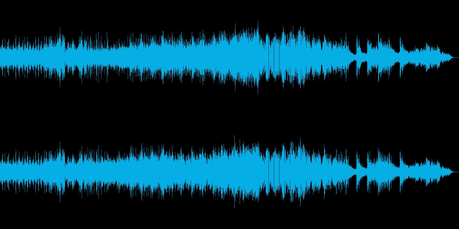 ホラー、サスペンスなアンビエントの再生済みの波形