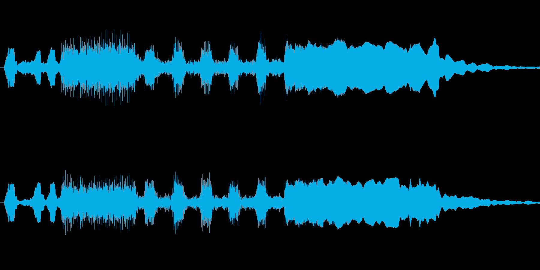 明るいファンファーレ ゲームCMなどに…の再生済みの波形