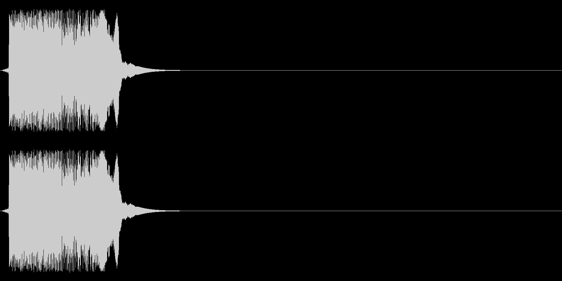 効果音、斬撃,ズバッ、刀、斬鉄剣、五右…の未再生の波形