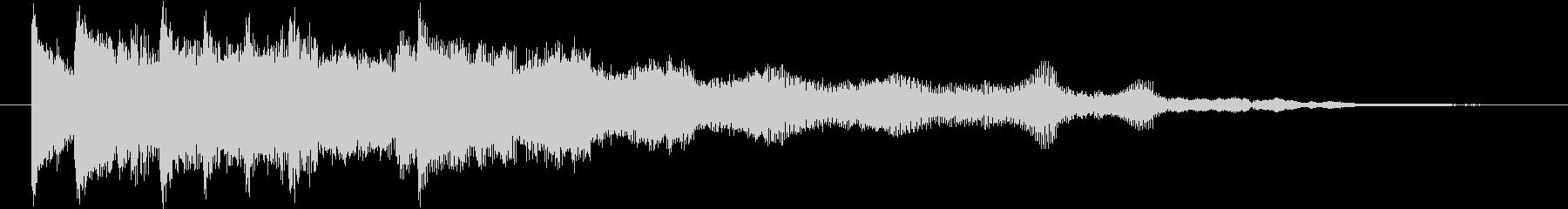 シンプル&スタンダードで洗練されたロゴの未再生の波形