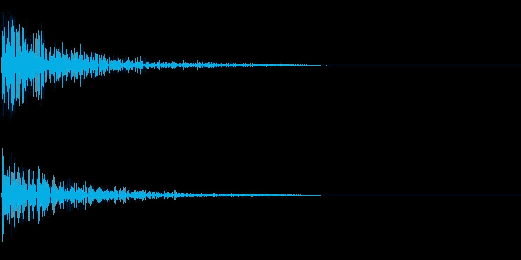 スコーンの再生済みの波形