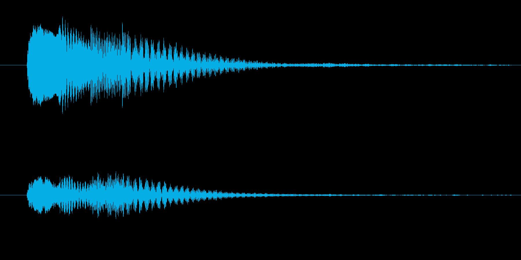 謎 不安の再生済みの波形