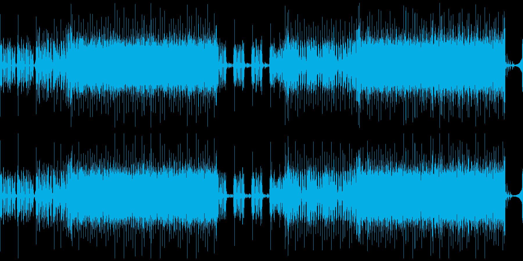 暗くて喧しい、怪しいテクノ(ループ可)の再生済みの波形