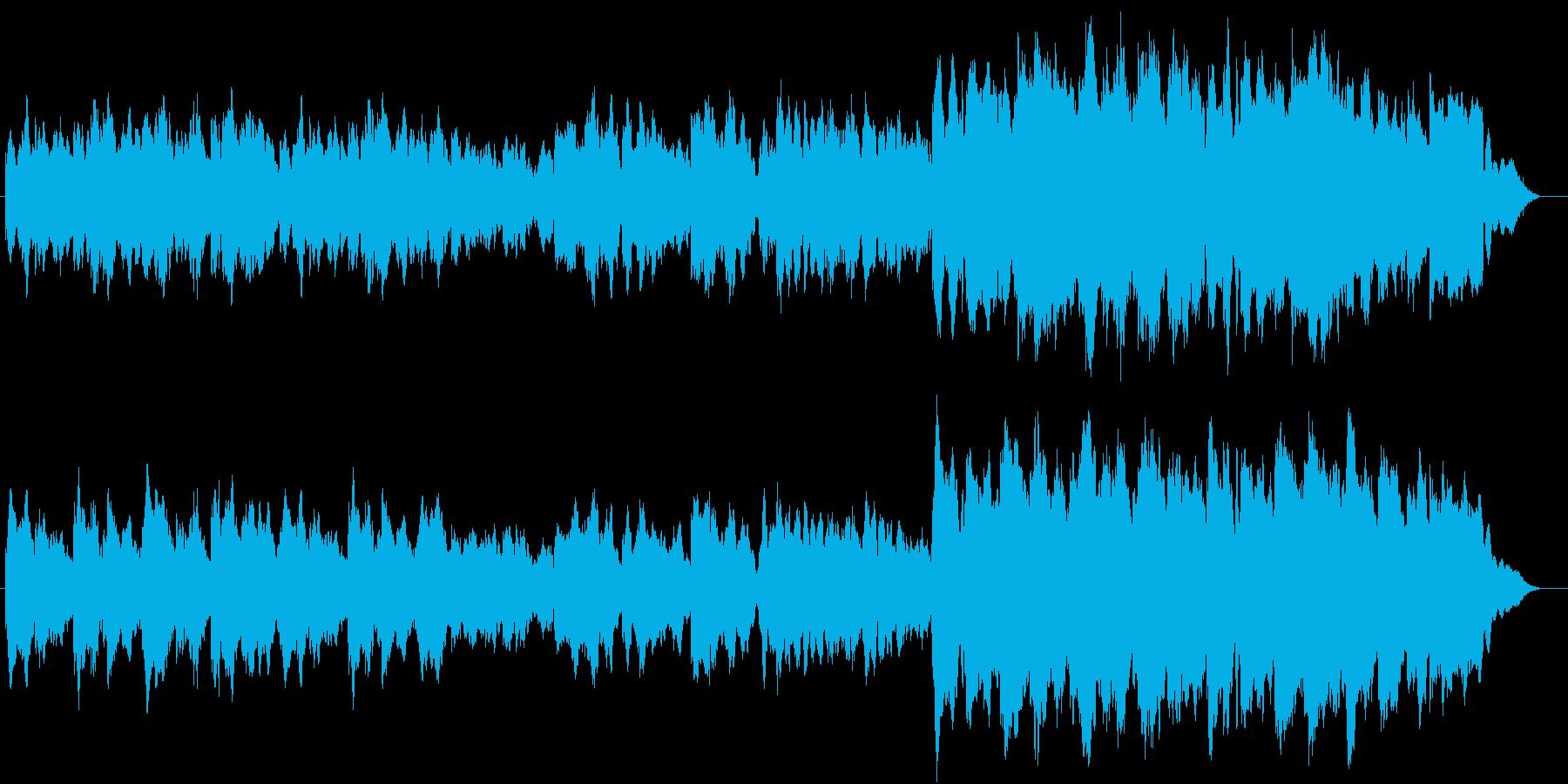 結婚行進曲(ワーグナー) 感動系アレンジの再生済みの波形