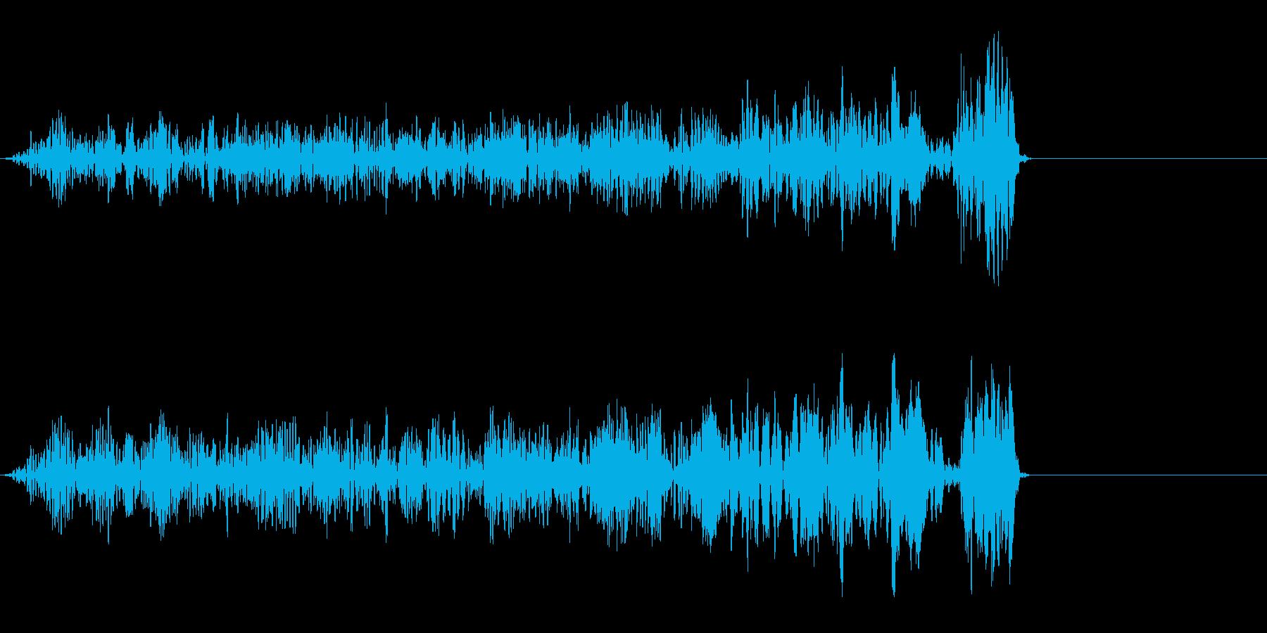 ウゴゴゴゴッ (蠢く音)の再生済みの波形