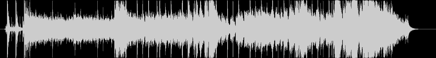 アシッドジャズ風ジングル・サウンドロゴの未再生の波形