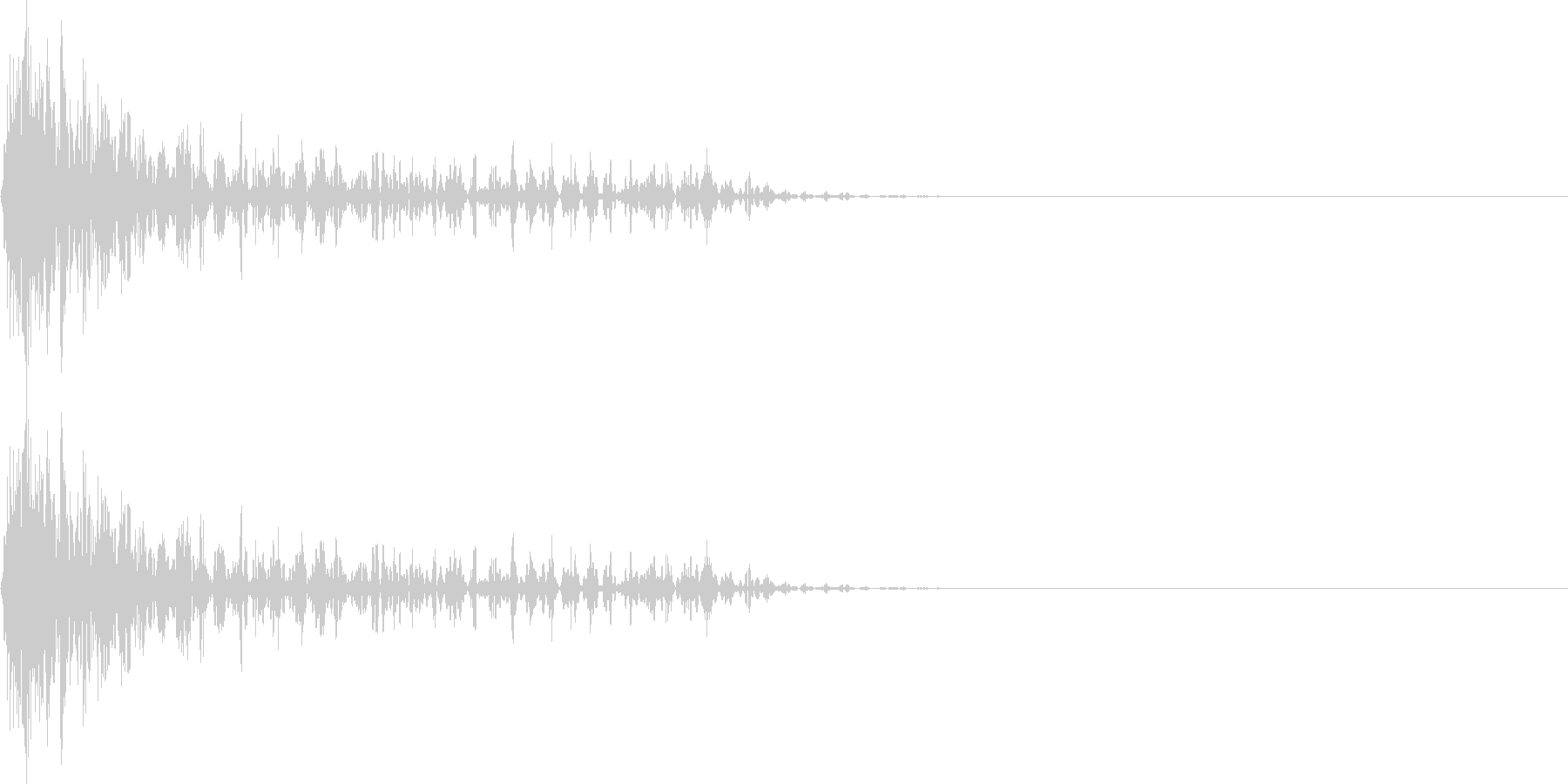 ブワーン(マイナス_ミス_少し長い)の未再生の波形