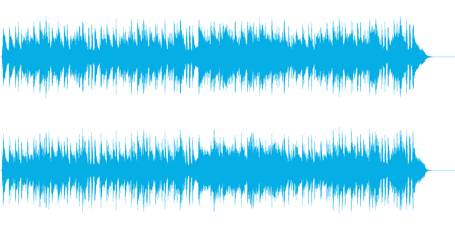 望郷の童話風アコースティック/ポップの再生済みの波形